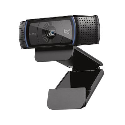Webcam Logitech C920 HD Pro FHD 30fps w/Microphone Black