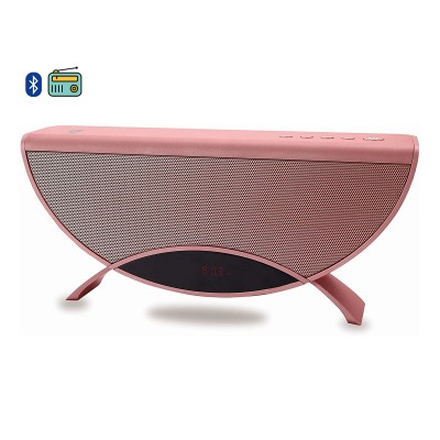 Speaker Conceptronic Apollyon 01R Bluetooth 10W Rádio FM Red