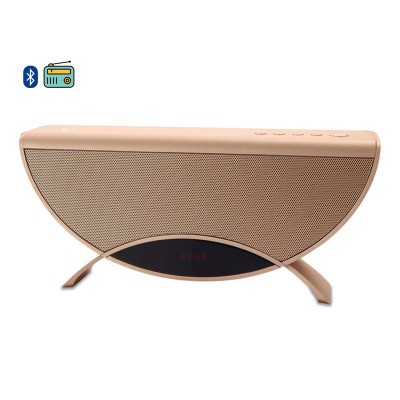 Speaker Conceptronic Apollyon 01GL Bluetooth 10W Rádio FM Gold