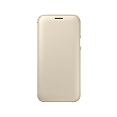 Capa Flip Wallet Original Samsung J5 2017 EF-WJ530CFE Dourada