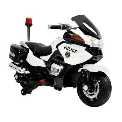 Electric Motorcycle Polícia HZB118 12V White Refurbished