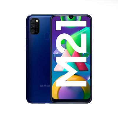 Samsung Galaxy M21 M215 64GB/4GB Dual SIM Blue Recondicioned
