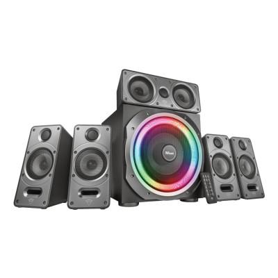 Speaker Trust GXT 698 Torro RGB 5.1 180W Black (23059)