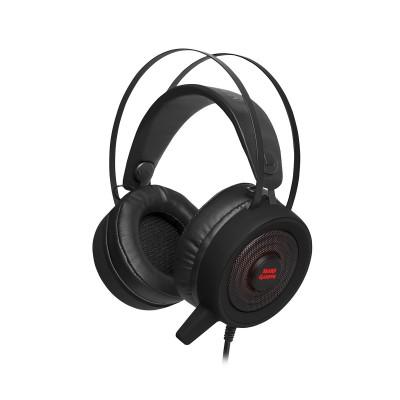 Headset Mars Gaming MH318 RGB 7.1 Black