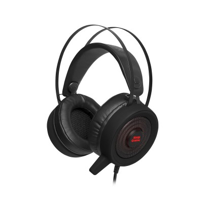 Headset Mars Gaming MH318 RGB 7.1 Preto