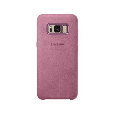 Capa Original Alcantara Samsung S8 EF-XG950APE Rosa