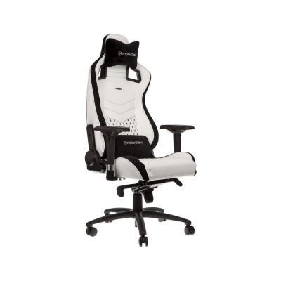 Cadeira Gaming Noblechairs EPIC PU Leather Branca/Preta (NBL-PU-WHT-001)