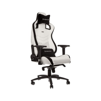 Gaming Chair Noblechairs EPIC PU Leather White / Black (NBL-PU-WHT-001)