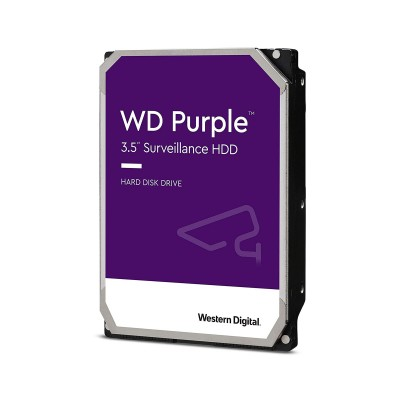 "Hard Drive Western Digital Purple 6TB 3.5"" 5400RPM 64MB"
