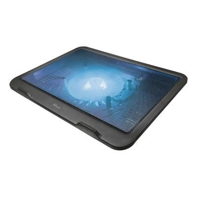 """Base de Refrigeração Trust Ziva Laptop Cooling Stand 16"""" LED Azul (21962)"""