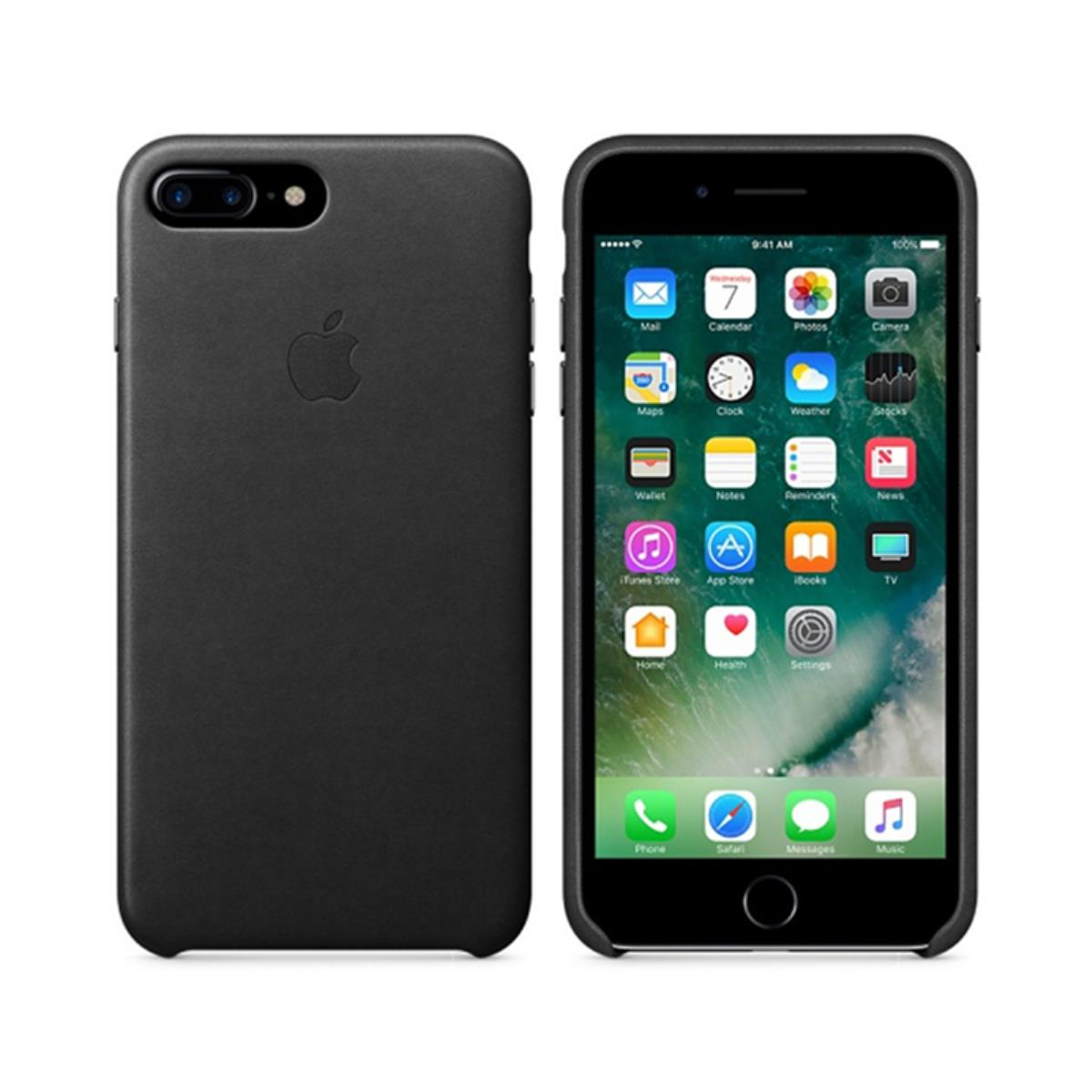 wholesale dealer 34ddc efa37 Original Leather Case iPhone 7 Plus Black (MMYJ2ZM/A)
