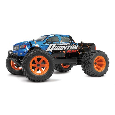 Remote Control Car Maverick Quantum MT Flux Monster Truck 4WD Blue