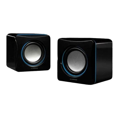 Speakers Vivanco 2W RMS 2.0 Black (31925)
