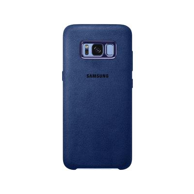 Funda Original Alcântara Original Samsung S8 Plus Azul (EF-XG955ALE)