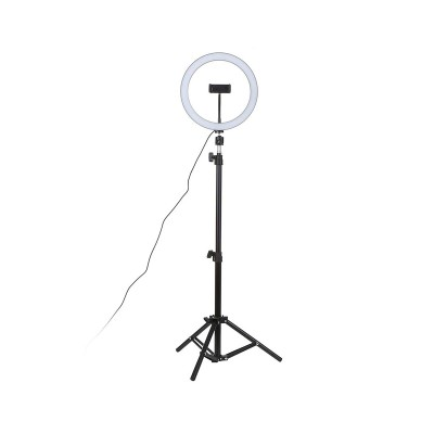 """Tripod support Ring Fill Light 12"""" 160 cm for Smartphone"""