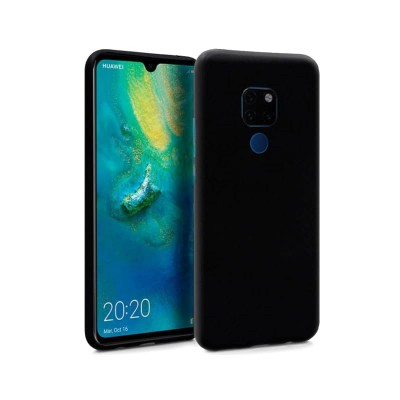 Silicone Cover Huawei Mate 20 Black
