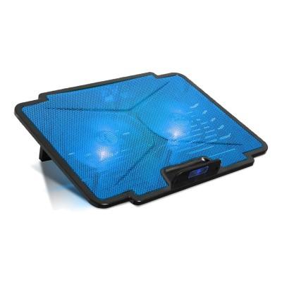 "Cooling Pad Spirit of Gamer Air Blade 100 15.6"" LED Blue"