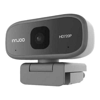 Webcam Innjoo 720 HD w/ Microphone Black