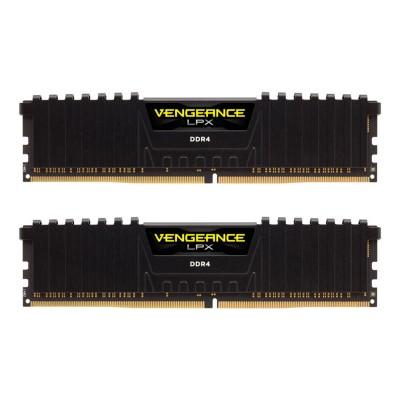 RAM Memory Corsair Vengeance LPX 16GB (2x8GB) DDR4 3000MHz Black