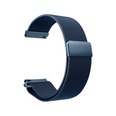 Metal Watch Band Universal 20mm Blue
