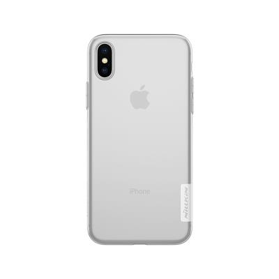 Funda Silicona Nillkin iPhone X Transparente