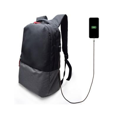 "Mochila Ewent Urban Notebook Backpack 17.3"" c/Porta USB Preta (EW2529)"