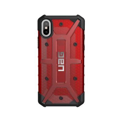 Capa Urban Armor Gear iPhone X Vermelho (IPHX-L-MG)