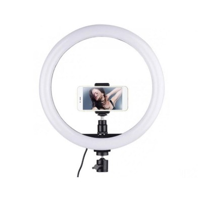 Tripod support Ring Fill Light 14'' 160cm to Smartphone
