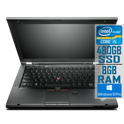 "Lenovo ThinkPad T430 14"" i5-3320M SSD 480GB/8GB Refurbished"