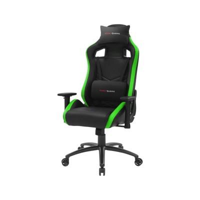 Cadeira Gaming Mars MGCXNEO Preta/Verde (MGCXNEOBG)