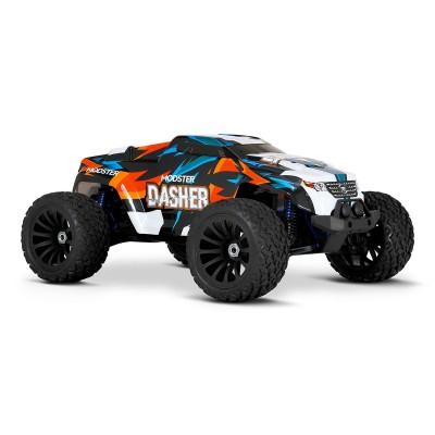 Carro Telecomandado Modster Dasher V2 Elektro Monster Truck 4WD