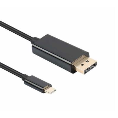 Adapter NTech USB Tipo-C to Dislpayport M 1.8M Black
