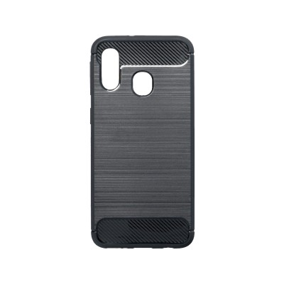 Silicone Cover Forcell Samsung Galaxy A40 2020 Black