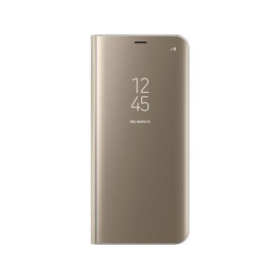 Capa Clear View Original Samsung S8 Plus Dourada (EF-ZG955CFE)