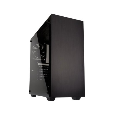 Computer Case Kolink Stronghold w/Window ATX Black (STRONGHOLD)