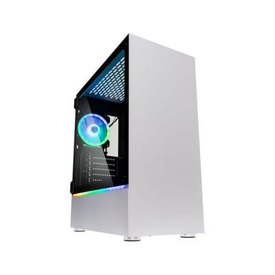 Computer Case Kolink Bastion RGB w/Window ATX White (BASTION_RGB_W)