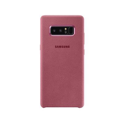 Original Original Alcântara Case Samsung Note 8 Pink (EF-XN950APE)