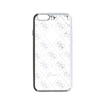 Guess Silicone Case iPhone 6 Silver (GUHCP6TR4GSI)