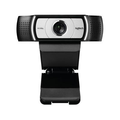 Webcam w/ Microphone Logitech C930E 1080p Full HD Black