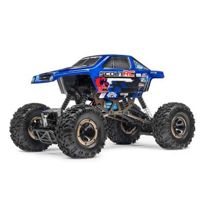 Carro Telecomandado Maverick Scout RC 4WD Azul (MV12505)