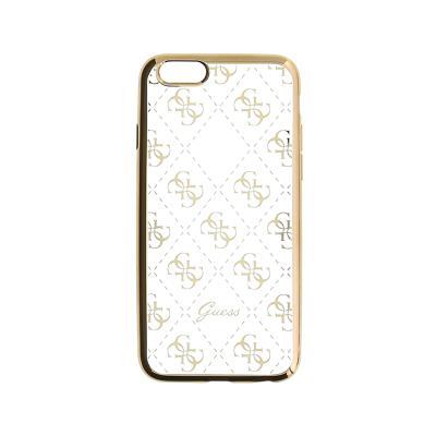 Capa Silicone Guess iPhone 5/SE Dourada (GUHCPSETR4GG)