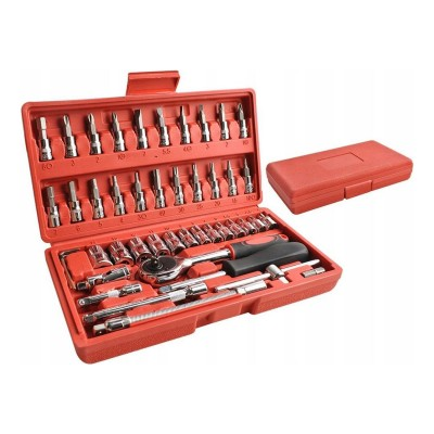 Tool box 46 Pieces Orange