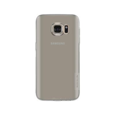 Capa Silicone Nillkin Samsung S7 Transparente Escuro