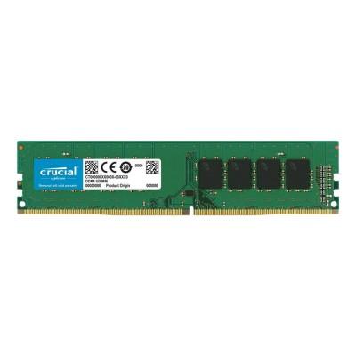 Memória RAM Crucial 4GB DDR4 (1x4GB) 2400MHz