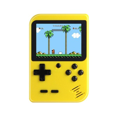 Handheld Console Classic w/500 Games Yellow