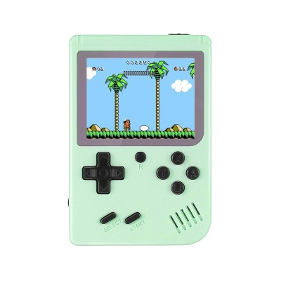 Handheld Console Classic w/500 Games Green