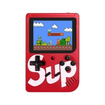 Handheld Console Sup Classic w/400 Games Red