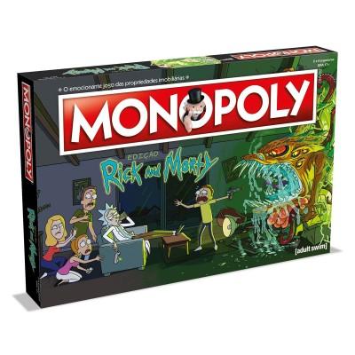 Game Monopoly Rick & Morty (Portuguese Version)