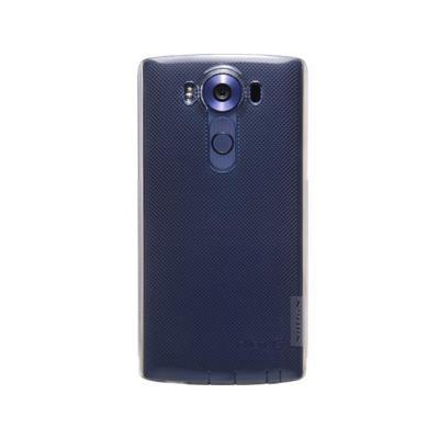 Capa Silicone Nillkin LG V10 Transparente Escuro