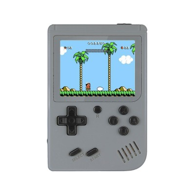 Handheld Console Classic w/500 Games Grey